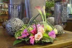 Assortiment bloemstukken