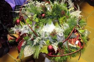 Kerst bloemstukken